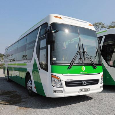 Xe Green Bus